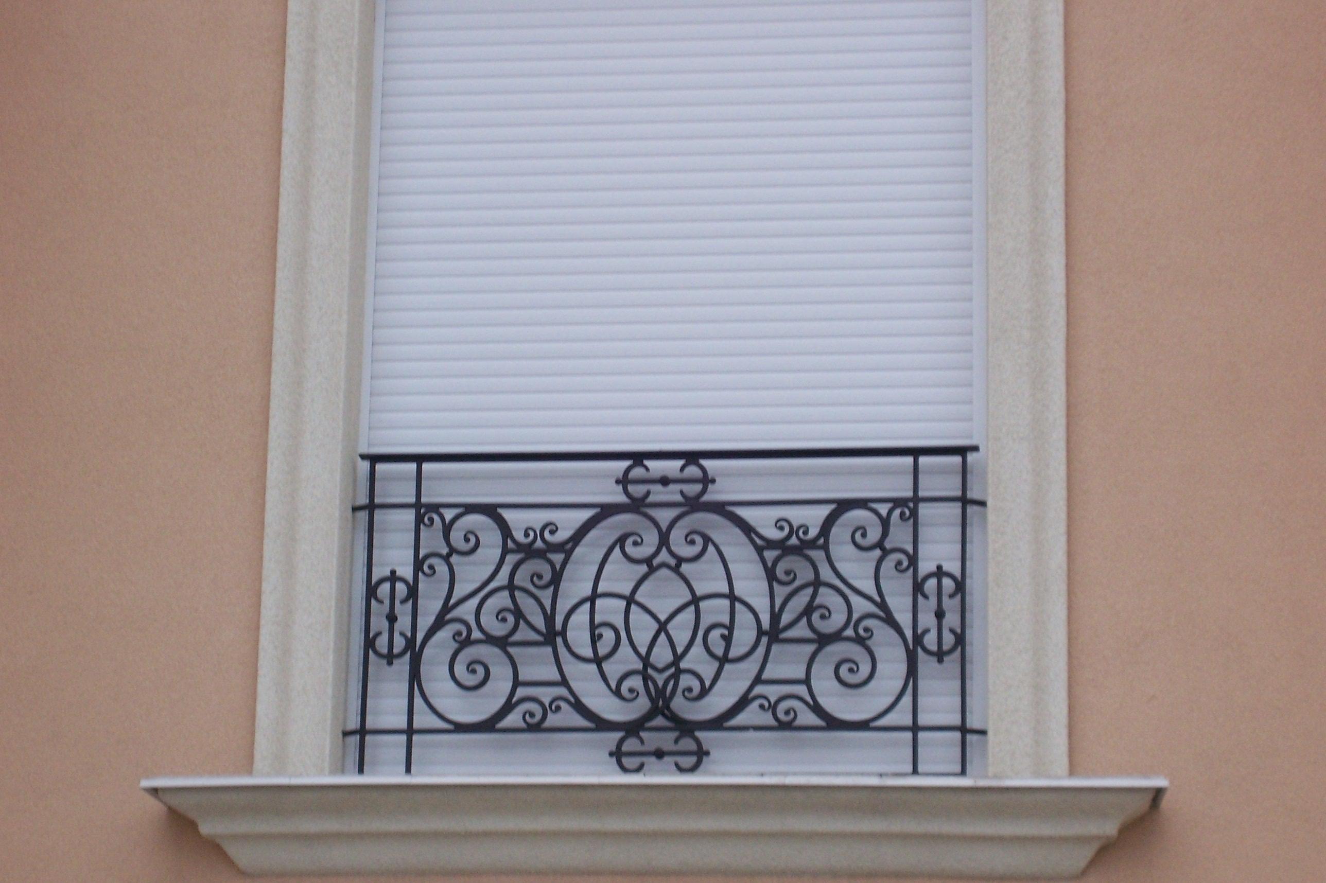 """Кованое ограждение для французского балкона """"изысканное"""", ар."""